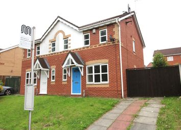 Thumbnail 3 bed semi-detached house for sale in Brindle Heath Road, Salford