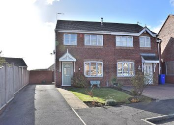 Thumbnail 3 bed semi-detached house for sale in Verona Grove, Meir Hay, Stoke On Trent