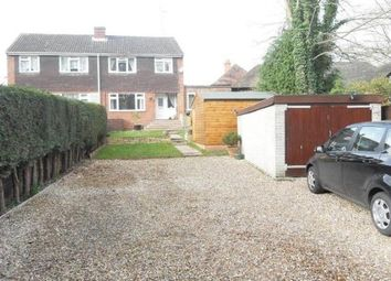 Thumbnail 4 bed semi-detached house to rent in Kingsley Road, Eversley, Hook