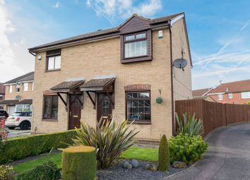 Thumbnail 2 bed semi-detached house to rent in Carnoustie Close, Kirkby-In-Ashfield