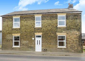 Thumbnail 1 bed flat for sale in March Road, Coates, Peterborough
