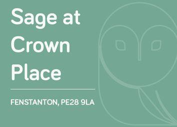 Thumbnail 3 bed end terrace house for sale in Plot 70, Crest Drive, Fenstanton, Cambridge