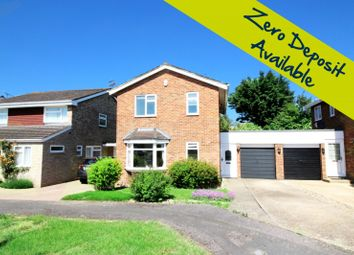 Thumbnail 3 bed link-detached house to rent in Linden End, Aylesbury