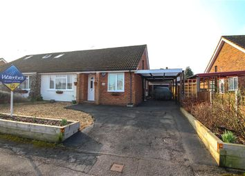 Thumbnail 2 bed semi-detached house for sale in Hall Farm Crescent, Yateley, Hampshire