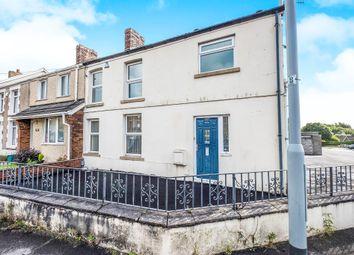 Thumbnail 3 bedroom end terrace house for sale in Llangyfelach Road, Tirdeunaw, Swansea