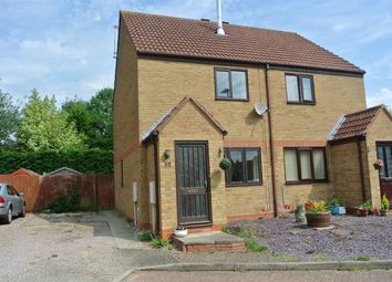 Thumbnail 2 bed semi-detached house for sale in The Causeway, Thurlby, Bourne, Lincolnshire