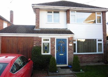 Thumbnail 4 bedroom detached house for sale in Bath Close, Sapcote, Leicester