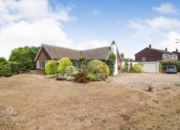 Thumbnail 3 bed detached bungalow for sale in The Hills, Reedham, Norwich