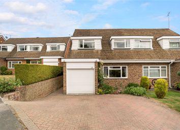 Thumbnail 3 bed semi-detached house for sale in Brooklands Close, Farnham, Surrey