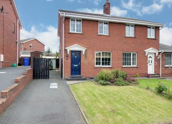 Thumbnail 3 bed semi-detached house for sale in East Mount, Newtownards