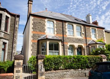 Thumbnail 4 bed semi-detached house for sale in Plas Treoda, Whitchurch, Cardiff