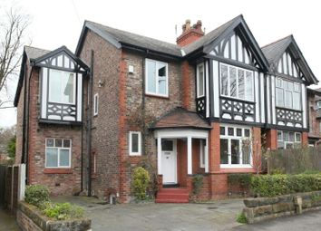 Thumbnail 4 bed semi-detached house to rent in Westgate, Hale, Altrincham