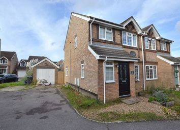 Thumbnail 3 bed semi-detached house for sale in Twisell Thorne, Church Crookham, Fleet