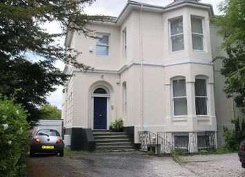 Thumbnail 2 bed flat to rent in Mannamead Road, Plymouth, Devon