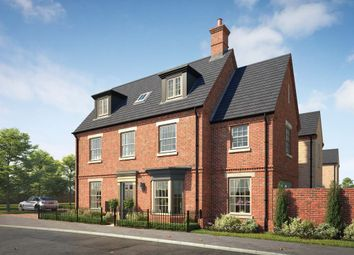 "Thumbnail 4 bedroom property for sale in ""The Whitworth"" at Central Avenue, Brampton, Huntingdon"