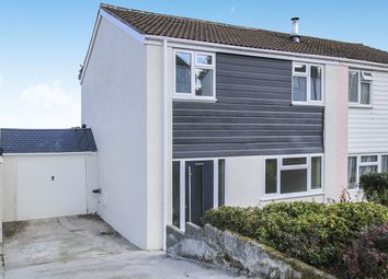 Thumbnail 3 bed semi-detached house for sale in Pentrevah Road, Penwithick, St. Austell