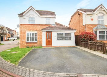 Thumbnail 4 bed detached house for sale in East Ridge View, Garforth