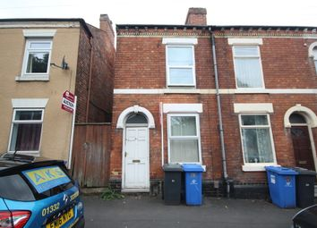 Thumbnail 3 bed end terrace house to rent in Upper Boundary Road, Derby
