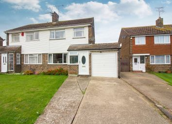 Thumbnail 3 bedroom semi-detached house for sale in The Silvers, Broadstairs