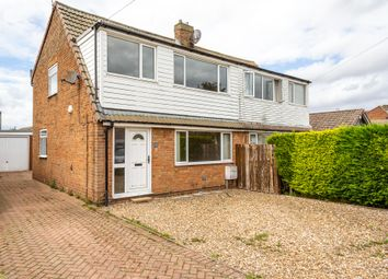 Thumbnail 3 bed semi-detached house for sale in Orchard Way, Thorpe Willoughby, Selby