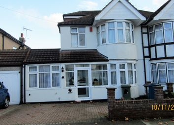 Thumbnail 4 bed semi-detached house to rent in Hunters Grove, Harrow