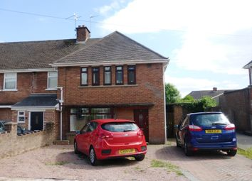 Thumbnail 3 bed end terrace house for sale in Masefield Road, Penarth