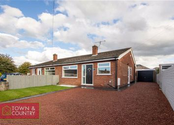 Thumbnail 2 bed semi-detached bungalow for sale in Talfryn Close, Connah's Quay, Deeside, Flintshire