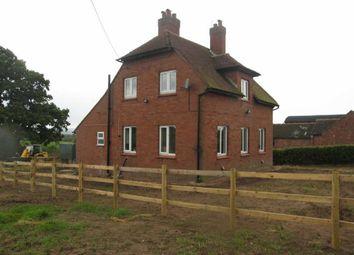 Thumbnail 3 bed detached house to rent in Montford Bridge, Shrewsbury