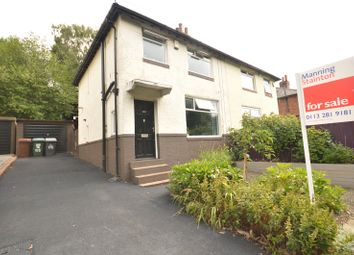 Thumbnail 3 bedroom semi-detached house for sale in Vesper Road, Kirkstall, Leeds