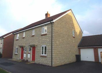 Thumbnail 3 bed semi-detached house for sale in Linnet Lane, Melksham