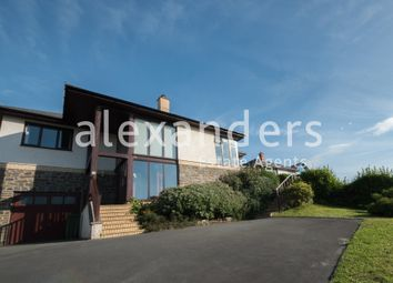Thumbnail 4 bed detached bungalow for sale in Felin Y Mor, Aberystwyth
