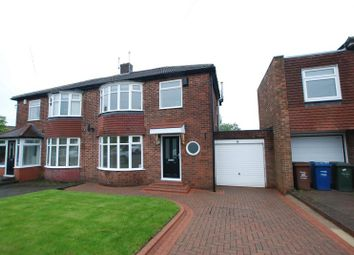 Thumbnail 3 bed semi-detached house for sale in Clayworth Road, Gosforth, Newcastle Upon Tyne