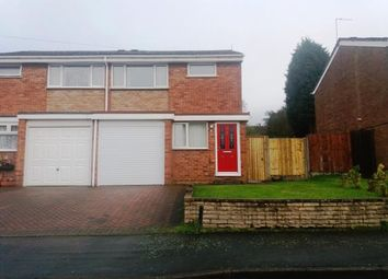 Thumbnail 3 bed semi-detached house for sale in Avon Road, Chasetown, Burntwood