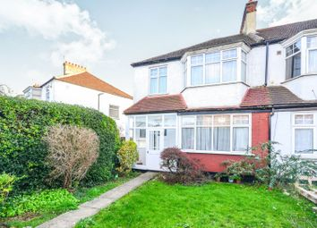 Thumbnail 3 bed semi-detached house for sale in Bushey Road, Raynes Park
