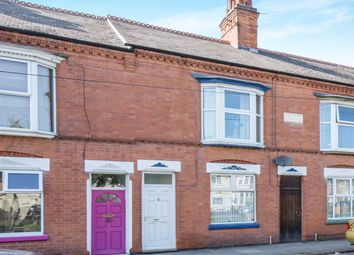 Thumbnail 2 bed terraced house for sale in Woodville Road, Western Park, Leicester