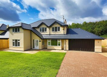 Thumbnail 4 bed detached house for sale in Bridge Road, Old St. Mellons, Cardiff