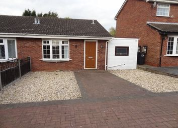 Thumbnail 1 bed semi-detached bungalow for sale in Torside, Wilnecote, Tamworth