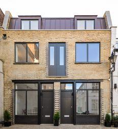 Blackstock Mews, Highbury N4. 3 bed terraced house