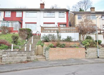 Thumbnail 3 bed end terrace house for sale in Valley View, Greenhithe