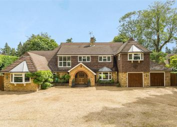 Thumbnail 4 bed detached house for sale in Fairmile Lane, Cobham, Surrey