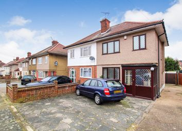 Thumbnail 3 bed semi-detached house for sale in Dominion Drive, Collier Row, Romford, Essex