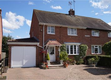 Thumbnail 3 bed semi-detached house for sale in Cleeve Road, Alcester