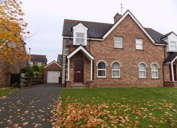 Thumbnail 3 bedroom semi-detached house to rent in Hollyburn, Ballinderry Upper, Lisburn