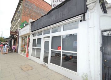 Thumbnail Commercial property to let in Chalk Farm Road, London