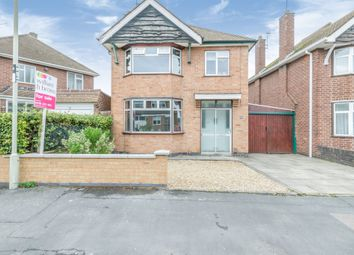 Thumbnail 3 bed detached house for sale in Saltersgate Drive, Birstall, Leicester