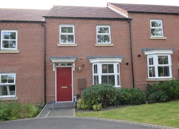 Thumbnail 3 bed town house for sale in Ruthyn Close, Ashby-De-La-Zouch