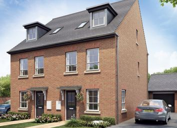 """Thumbnail 4 bedroom semi-detached house for sale in """"Rochester"""" at Rykneld Road, Littleover, Derby"""