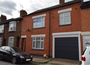 Thumbnail 4 bed terraced house for sale in Trafford Road, Leicester