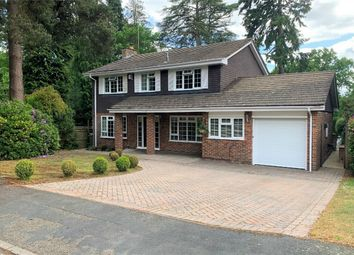 Thumbnail 4 bed detached house for sale in Stockwood Rise, Camberley, Surrey