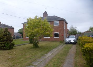 Thumbnail 2 bed semi-detached house for sale in Howell Road, Heckington, Sleaford